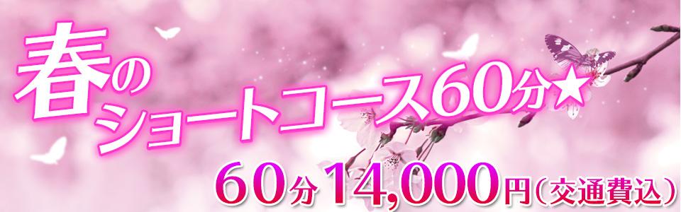 春のショートコース60分★