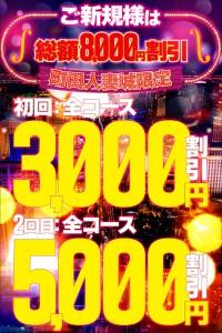 期間限定8000円割引◆究極の新規割