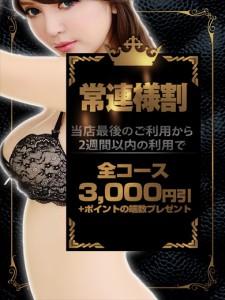 ☆12/5(火)以降にご利用のお客様☆ ★3000円引+ポイント10%★