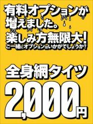 全身網タイツ2,000円